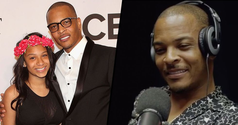 T.I Claims He Takes Teen Daughter to Doctor to Make Sure She's a Virgin