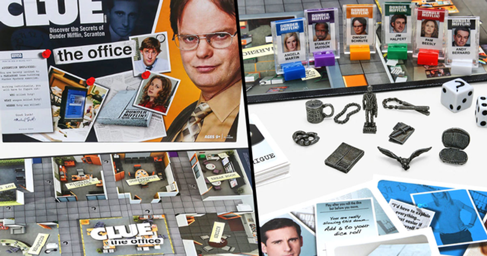 The 'Office' Clue Game Lets You Figure Out Who Killed Toby