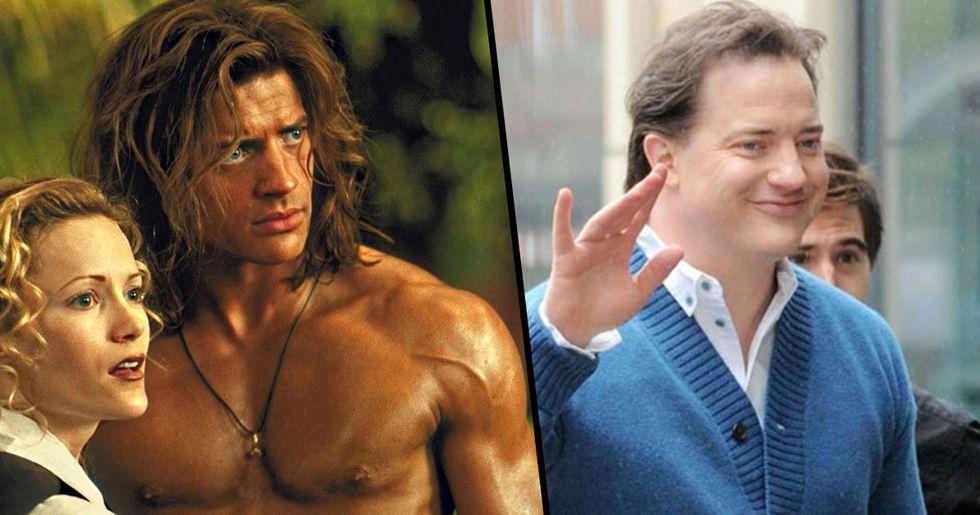 Someone Shamed Brendan Fraser on His 'Deteriorated Looks' and Got Destroyed