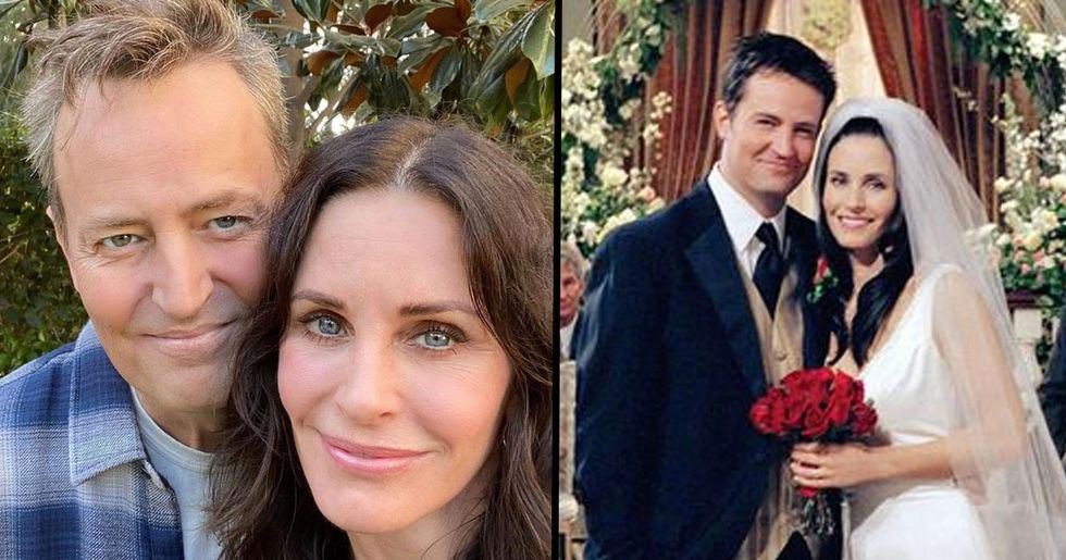 Matthew Perry Has 'Always Been in Love With' Courteney Cox