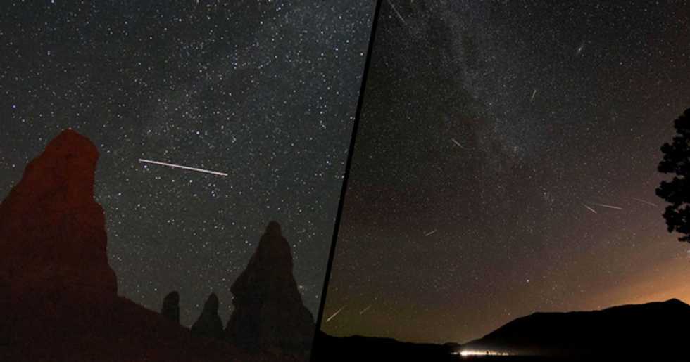 Huge Meteor Shower Will Fill the Sky with Shooting Stars This Weekend