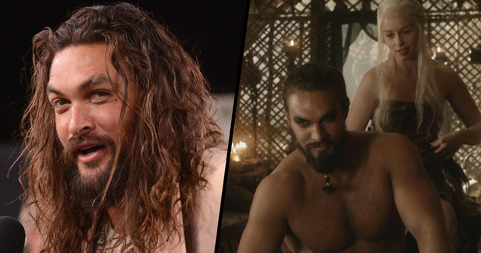 Jason Momoa Comforted Emilia Clarke When She Felt Uncomfortable During 'Game of Thrones' Scenes