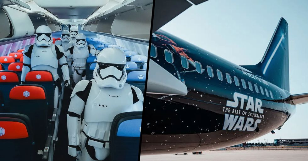 You Can Now Book a Flight on United's New 'Star Wars'-Themed Boeing 737 Plane