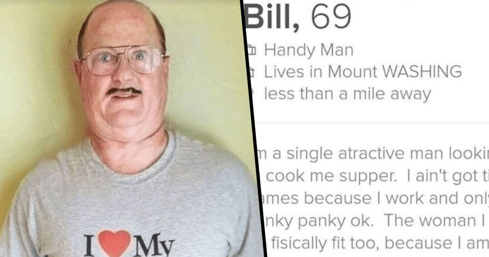 Someone Matched With 'Bill the Handyman' on Tinder and Shared Their Hilarious Conversation