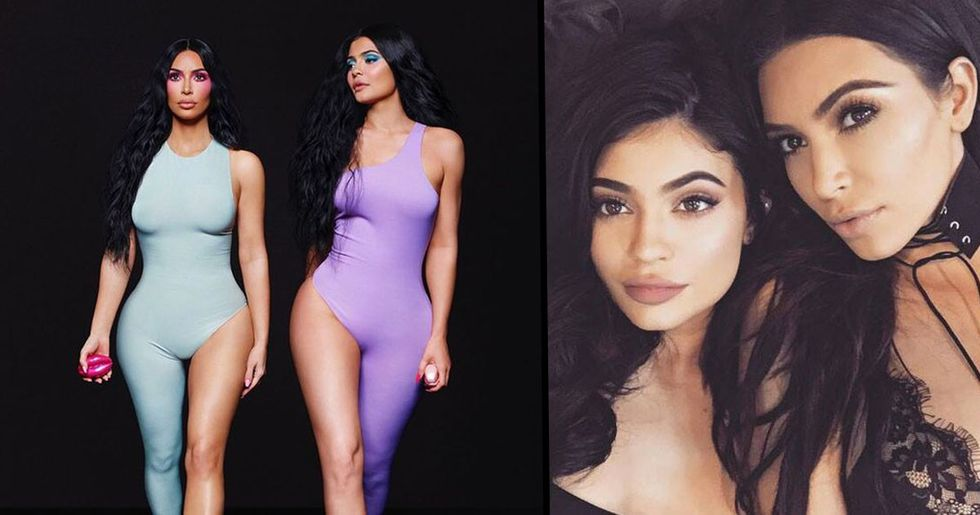 Kim and Kylie Mocked over Photoshop Fail That Gave Them Six Toes