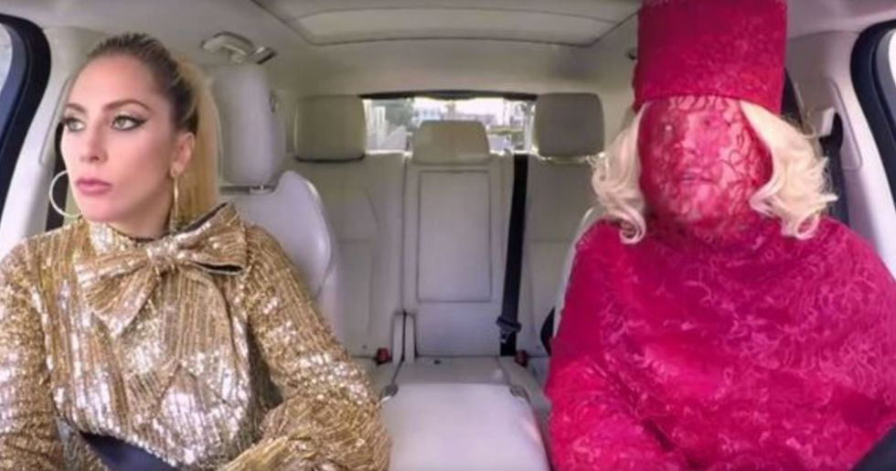 Lady Gaga's Carpool Karaoke Is the Best One Yet