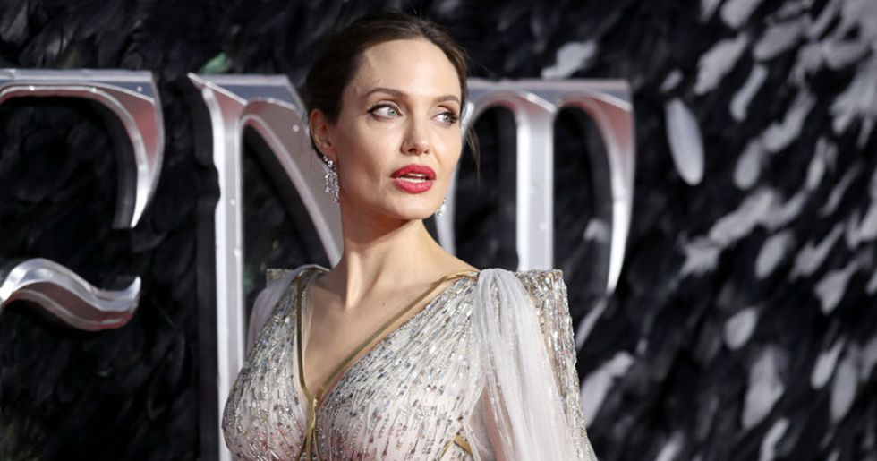 Angelina Jolie Poses Completely Nude to Show Her Scars
