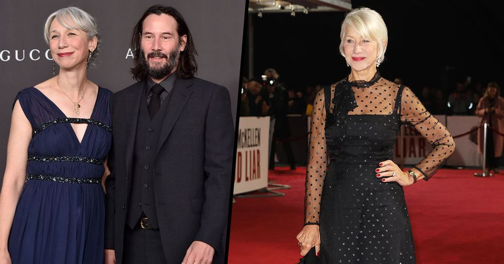 Fans Thought Keanu Reeves and Helen Mirren Were Dating