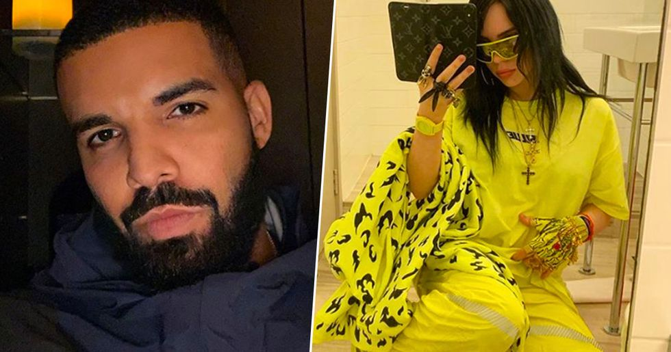 Drake Called 'Creepy' After Billie Eilish, 17, Reveals He Texts Her