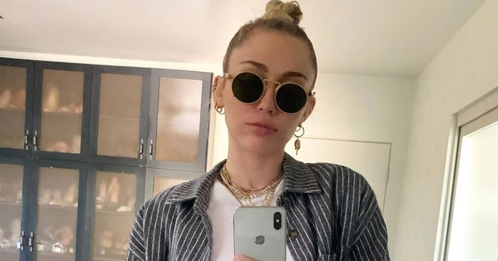 Miley Cyrus Shares Picture of Her New Tattoo