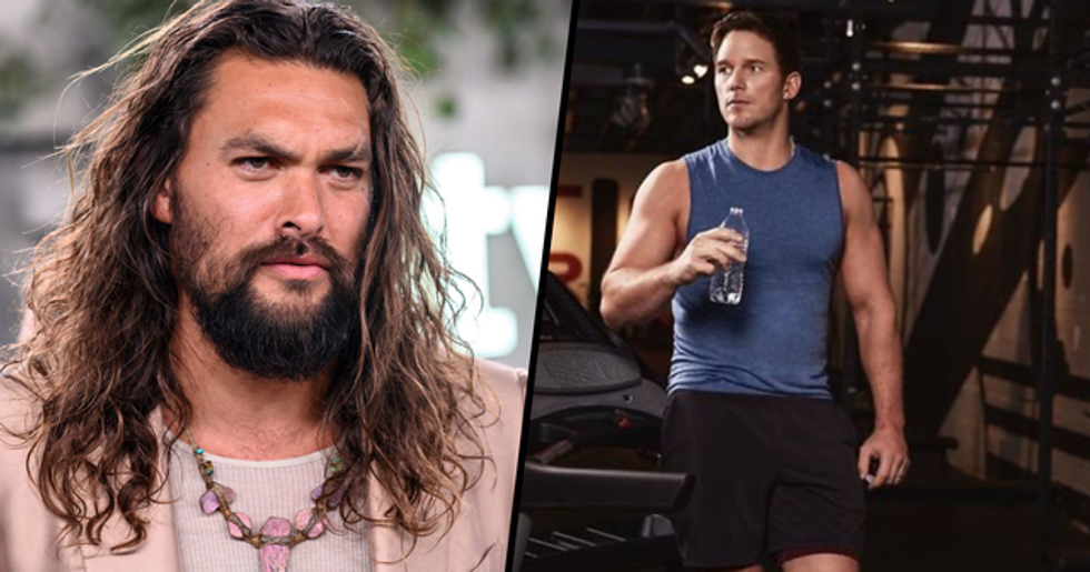 Someone Dug up an Embarrassing Pic of Jason Momoa After He Shamed Chris Pratt for Drinking From a Plastic Bottle