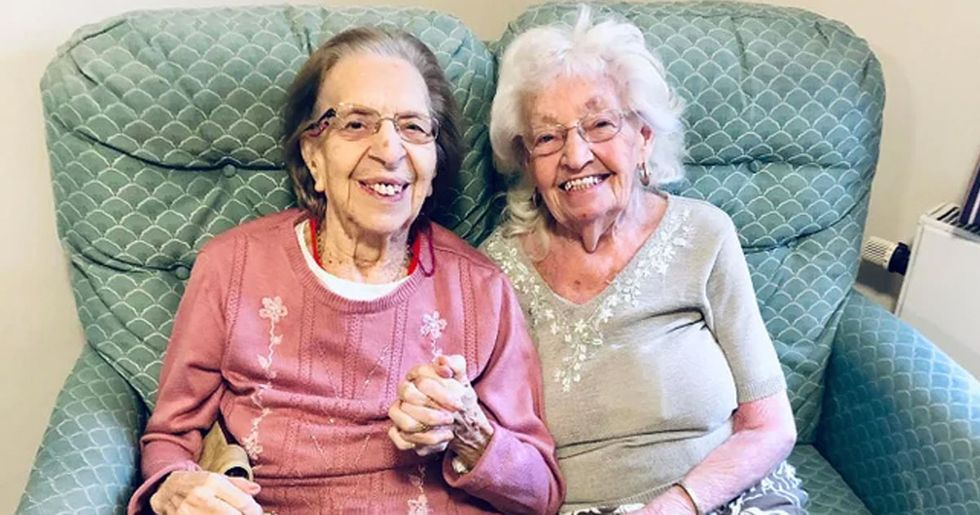 Elderly Women Who Have Been Best Friends Since They Were 11 Move to the Same Care Home Together