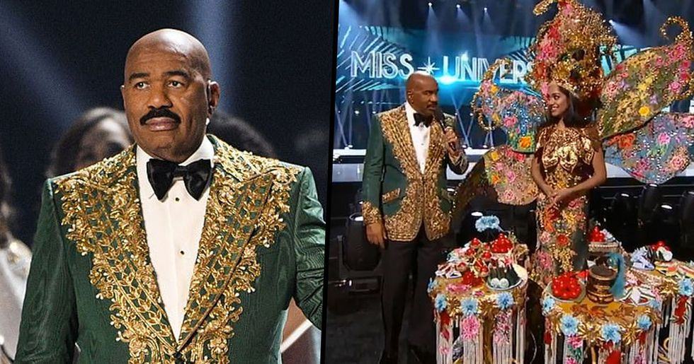 Steve Harvey Announces Wrong Winner of Miss Universe Pageant for Second Time