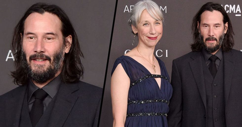 Keanu Reeves' Girlfriend Explains Why She Doesn't Dye Her Grey Hair
