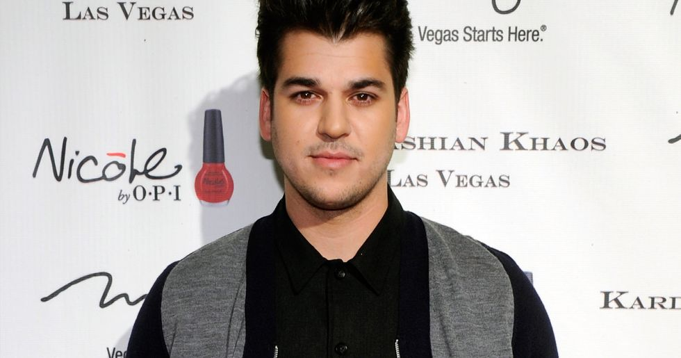 Rob Kardashian Pictured For First Time in Years