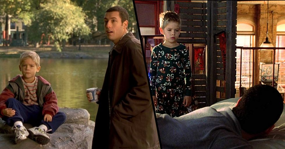 Adam Sandler and Cole Sprouse Have Father-Son Reunion 20 Years After 'Big Daddy'