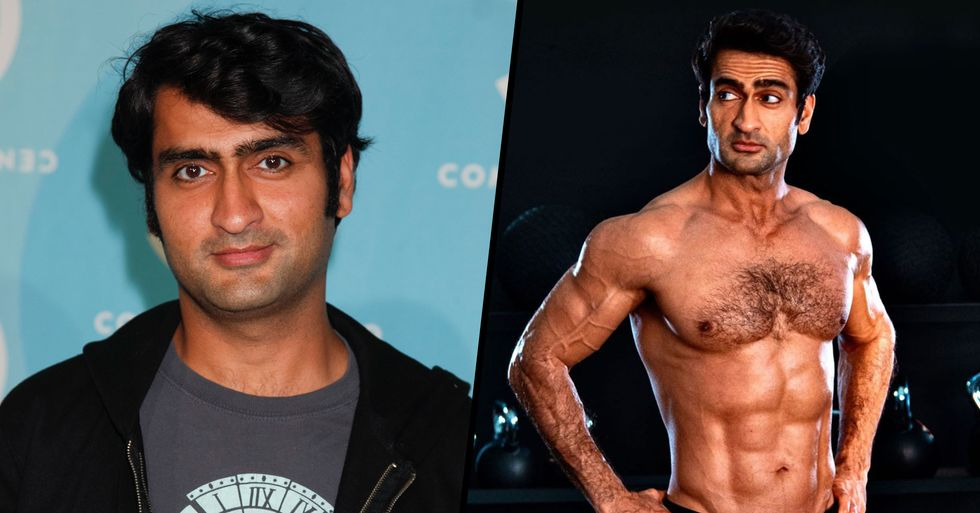 Kumail Nanjiani Is Now Ripped but Posted an Honest Caption About What It Really Took
