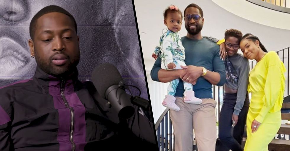 Dwyane Wade Gives Powerful Speech in Response to Trolls Slamming His Son for Wearing 'Female Clothes'