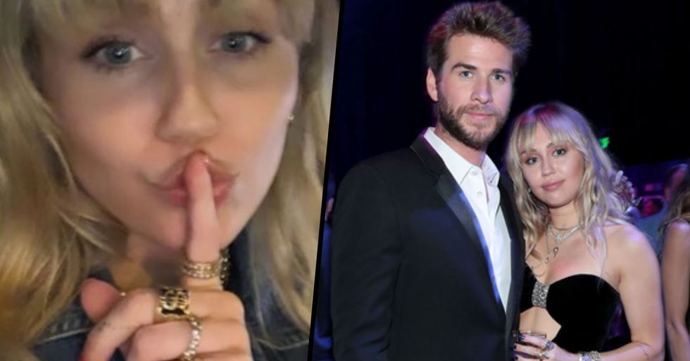 Miley Cyrus Pokes Fun at Eight-Month Marriage With Liam Hemsworth