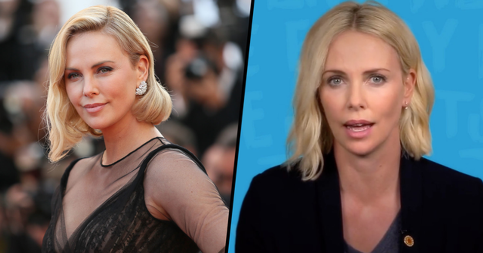 Charlize Theron Details the Day Her Mom Killed Her Dad