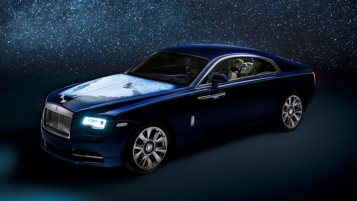 New, custom Rolls-Royce Wraith has out-of-this-world design