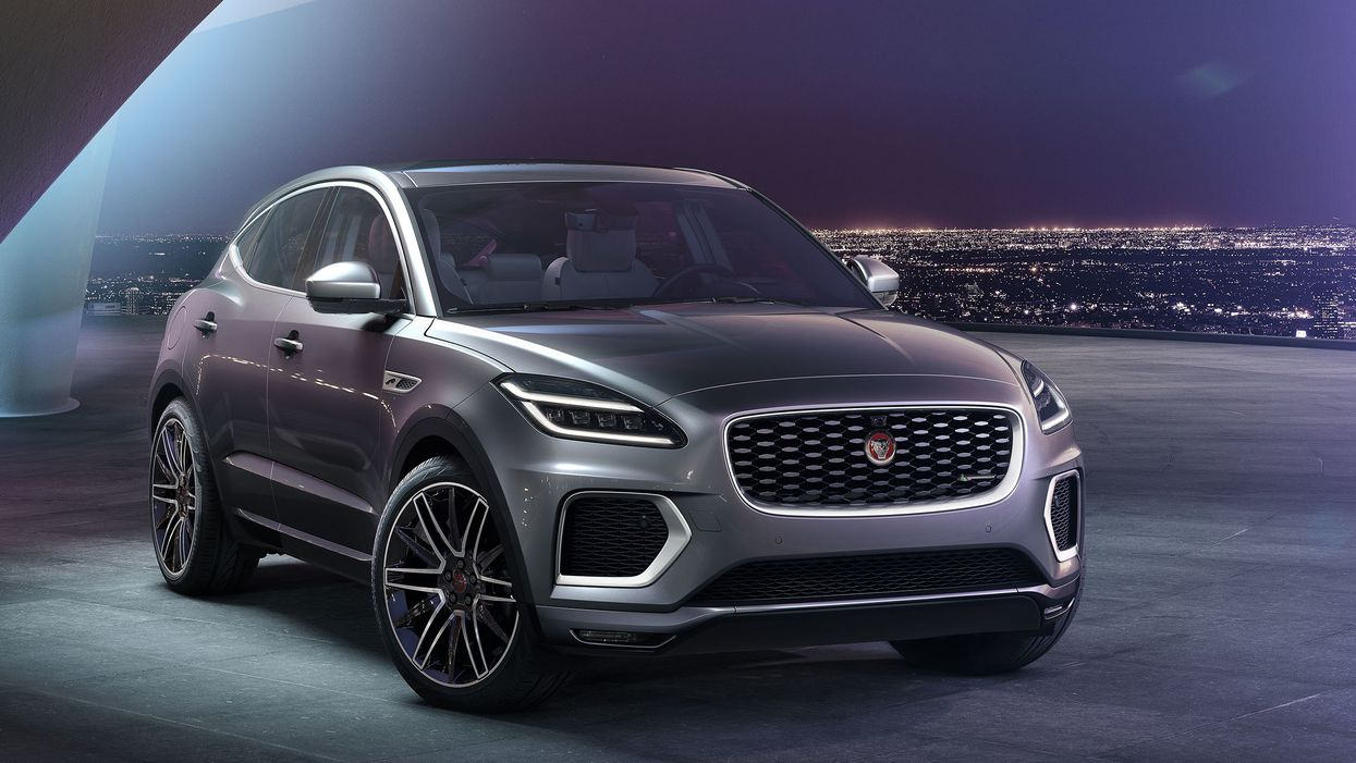 Refreshed 2021 Jaguar E-Pace offers more luxurious, tech-heavy accommodations