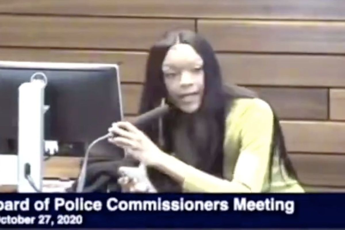 20-yr-old KJ Brooks named and shamed every official at a Kansas City police commissioner meeting