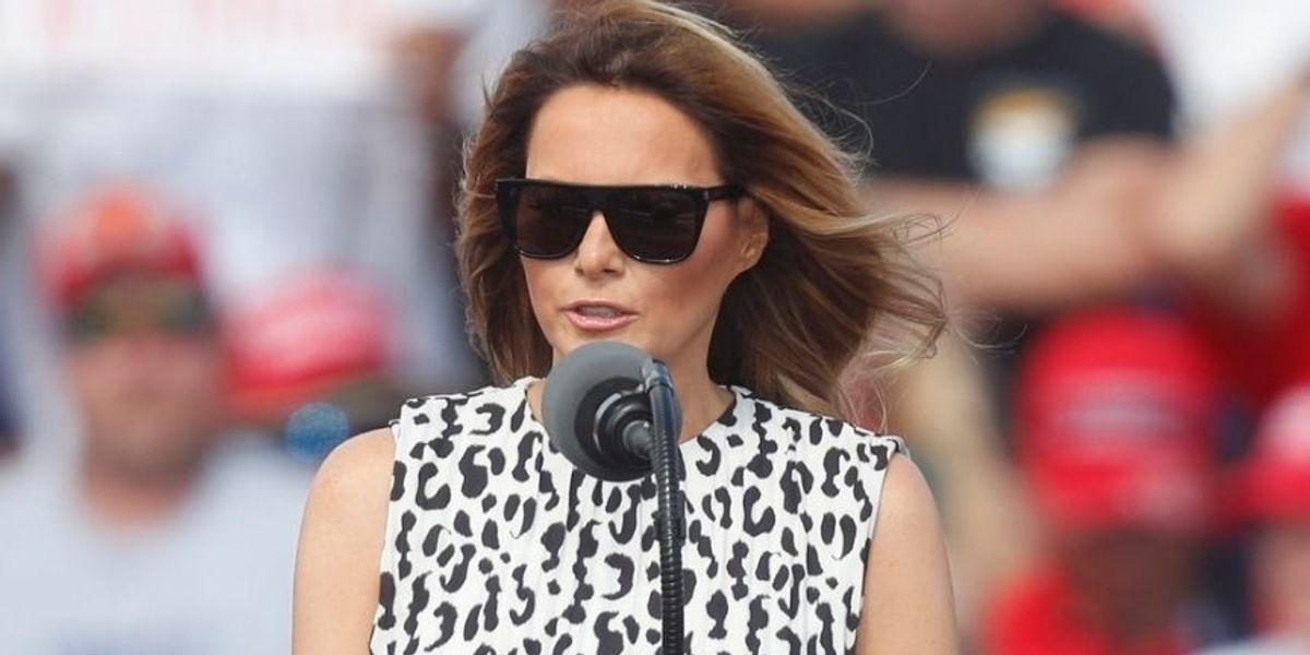 Melania Laments 'Hate, Negativity, and Fear' on Campaign Trail and People Clapped Back with Receipts