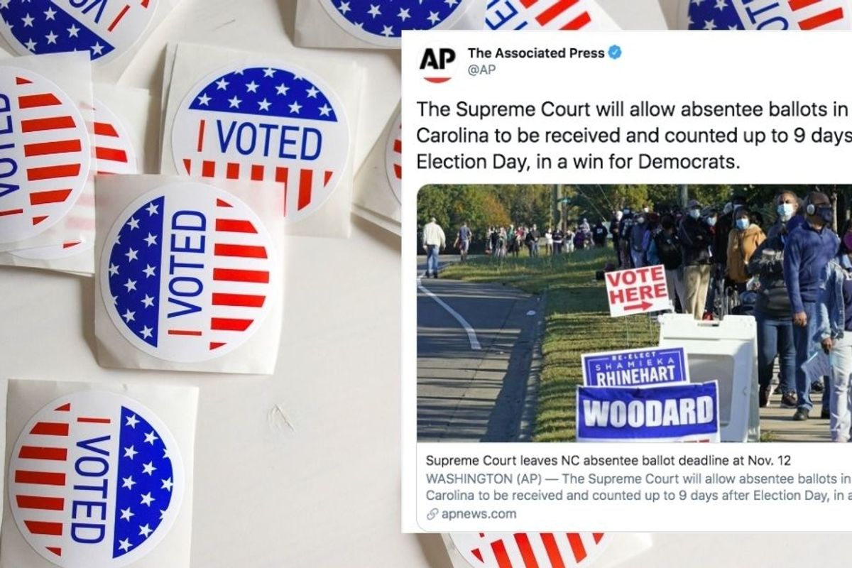 Making sure all votes are counted isn't 'a win for Democrats'—it's a win for all Americans