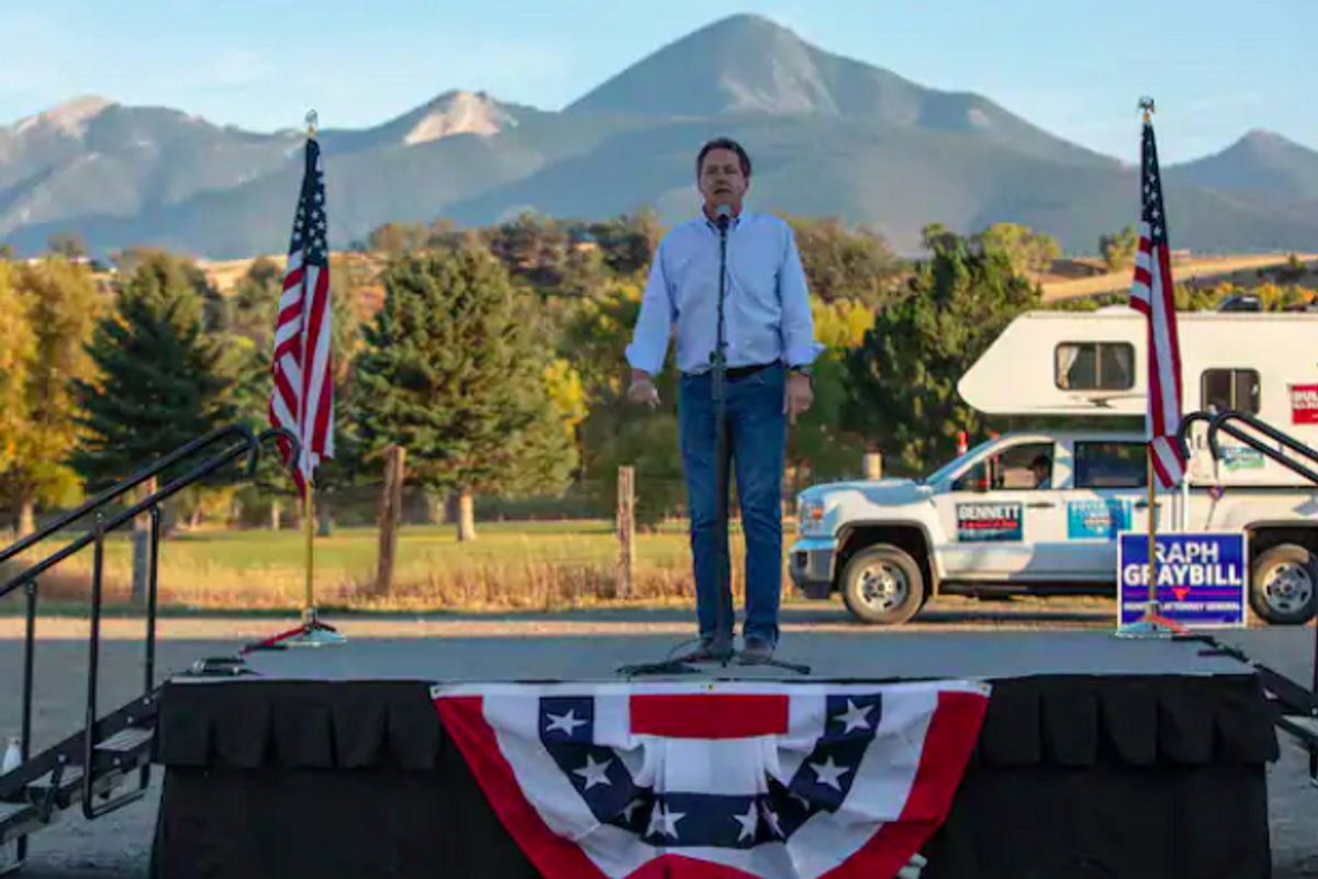 How Montana's governor, angling for a Senate seat, made an unapproved Trump official a campaign issue