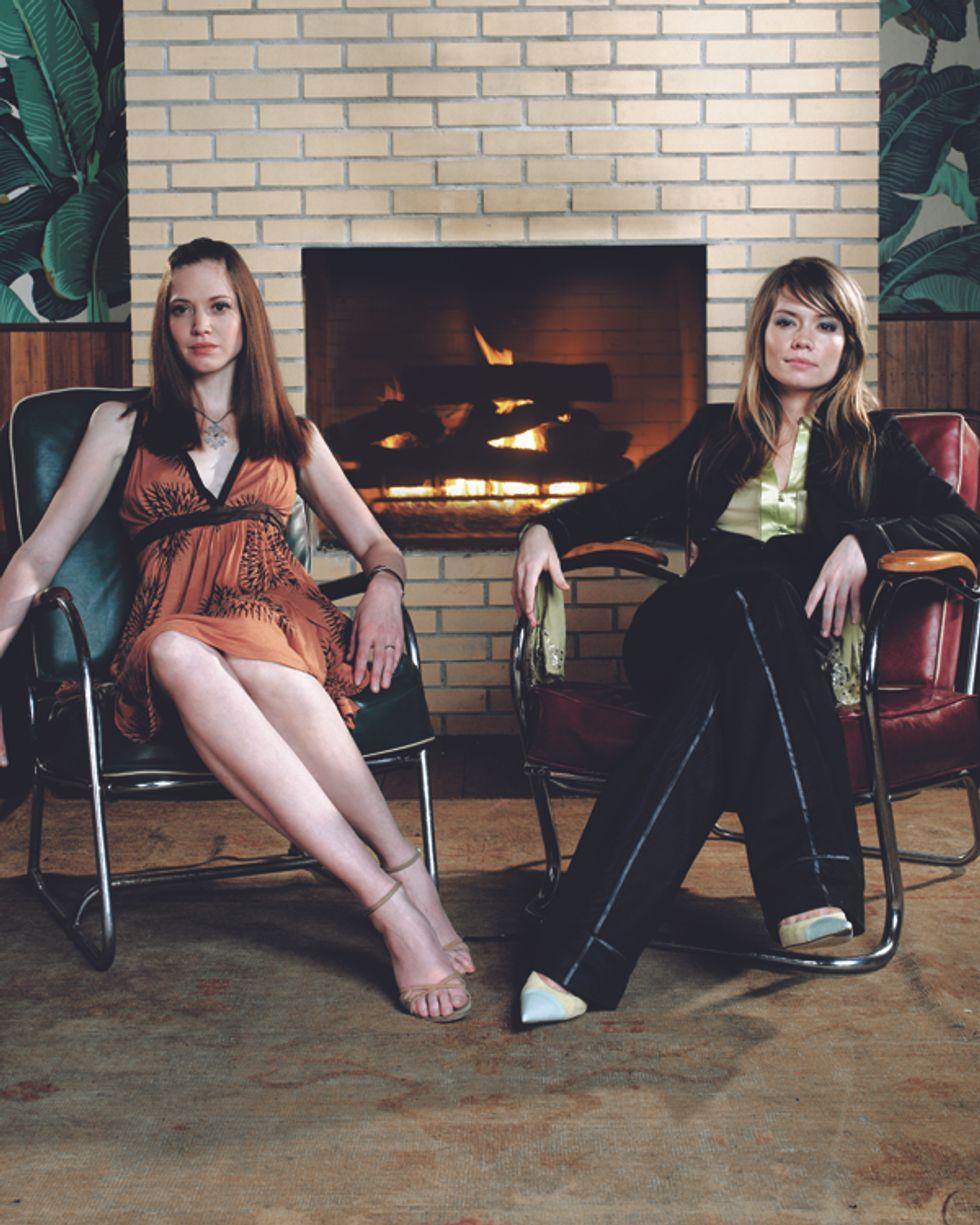 Brooke Geahan and Sarah McNally
