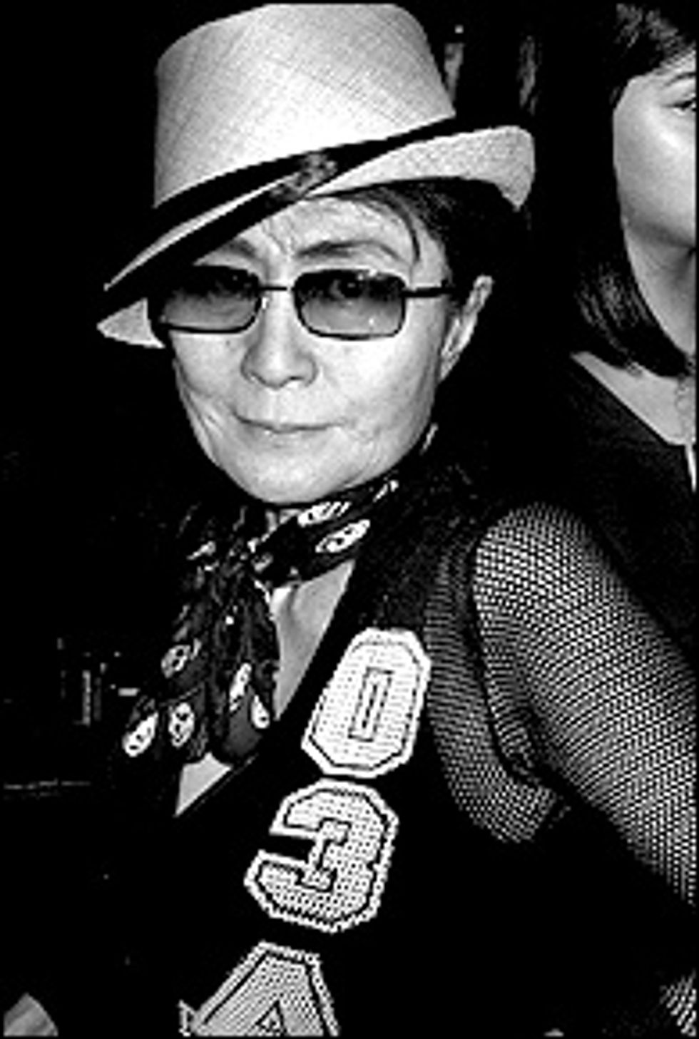 MisShapes Disco with Hedi Slimane and Yoko Ono