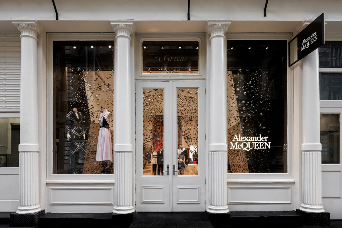 Alexander McQueen Finds a New Home in New York's SoHo