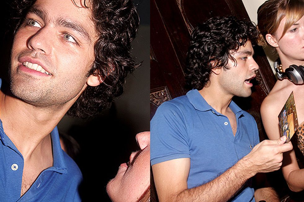 Out with Adrian Grenier
