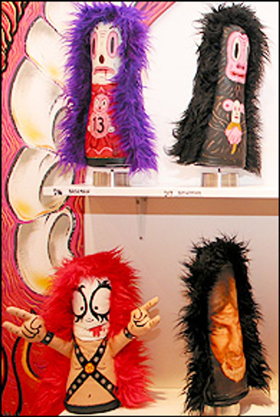 The Circus Punks Rule Show at Toy Tokyo