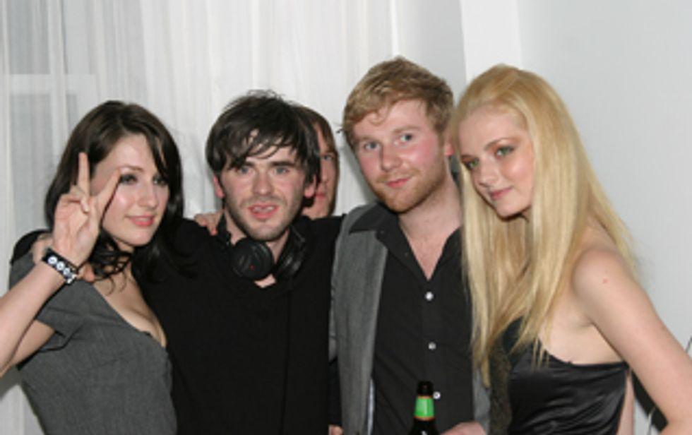 NY Nightclubbing with CTC, Franz Ferdinand and Lydia Hearst