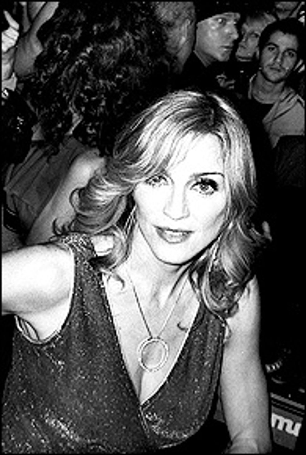 Mr. DJ & Madonna at MisShapes