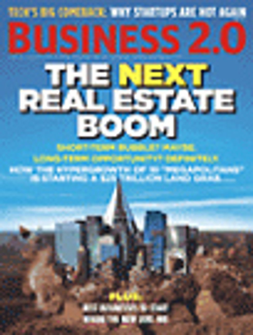 Get Real Estate -- Here Come the Supercities