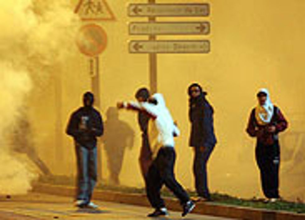 French Intifada Rages