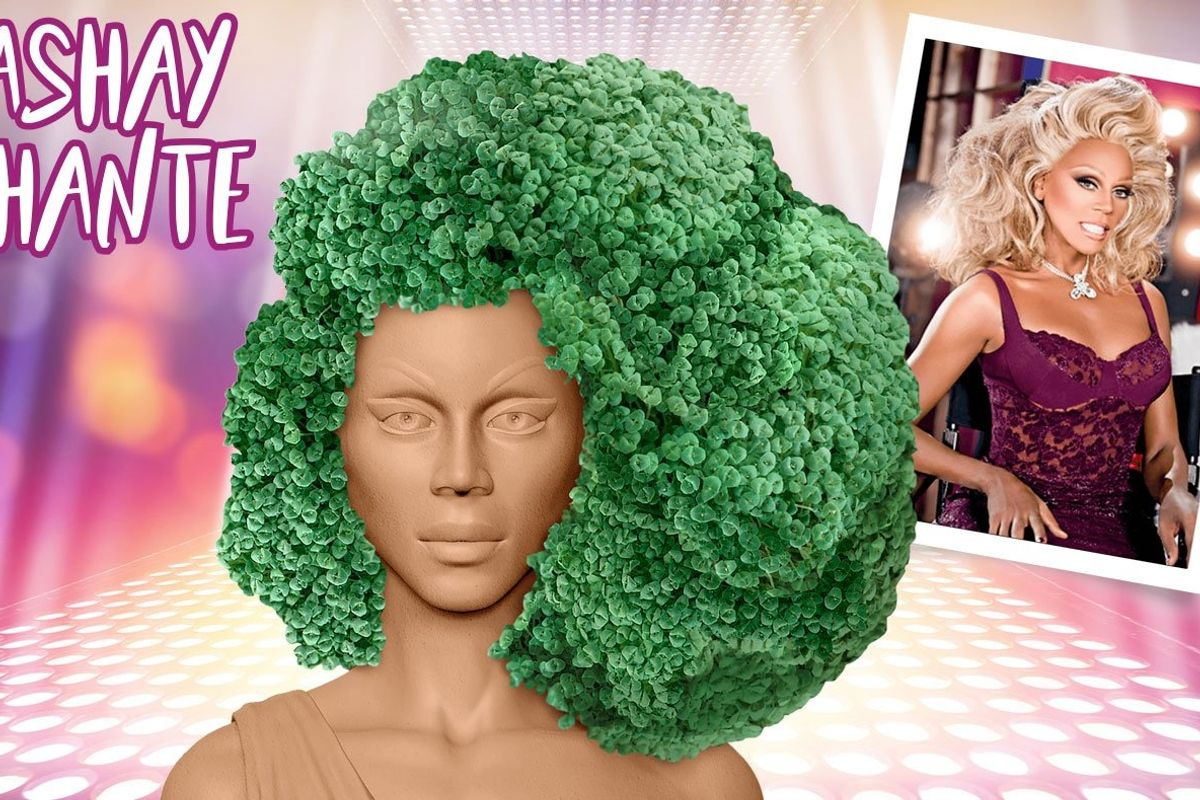 We Want a RuPaul Chia Pet for Christmas
