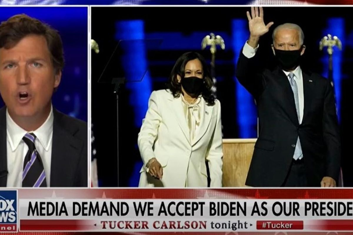 Even Tucker Carlson says it's time to admit 'there isn't enough fraud' to alter election result
