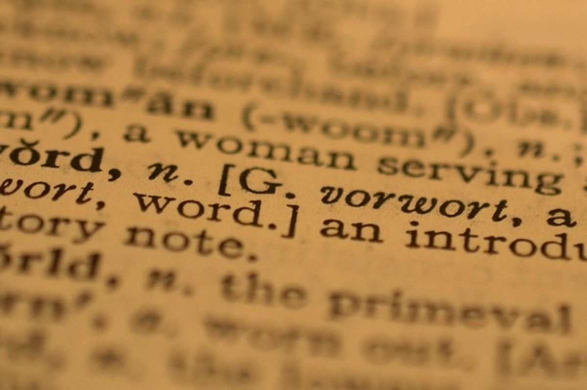 The Oxford Dictionary just updated their definition of 'woman' to make it less sexist