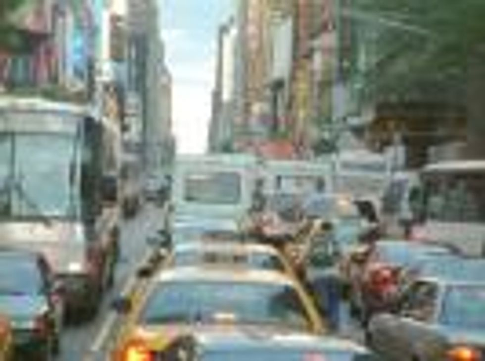 Traffic Stopping (or is it Moving) Plan for Manhattan