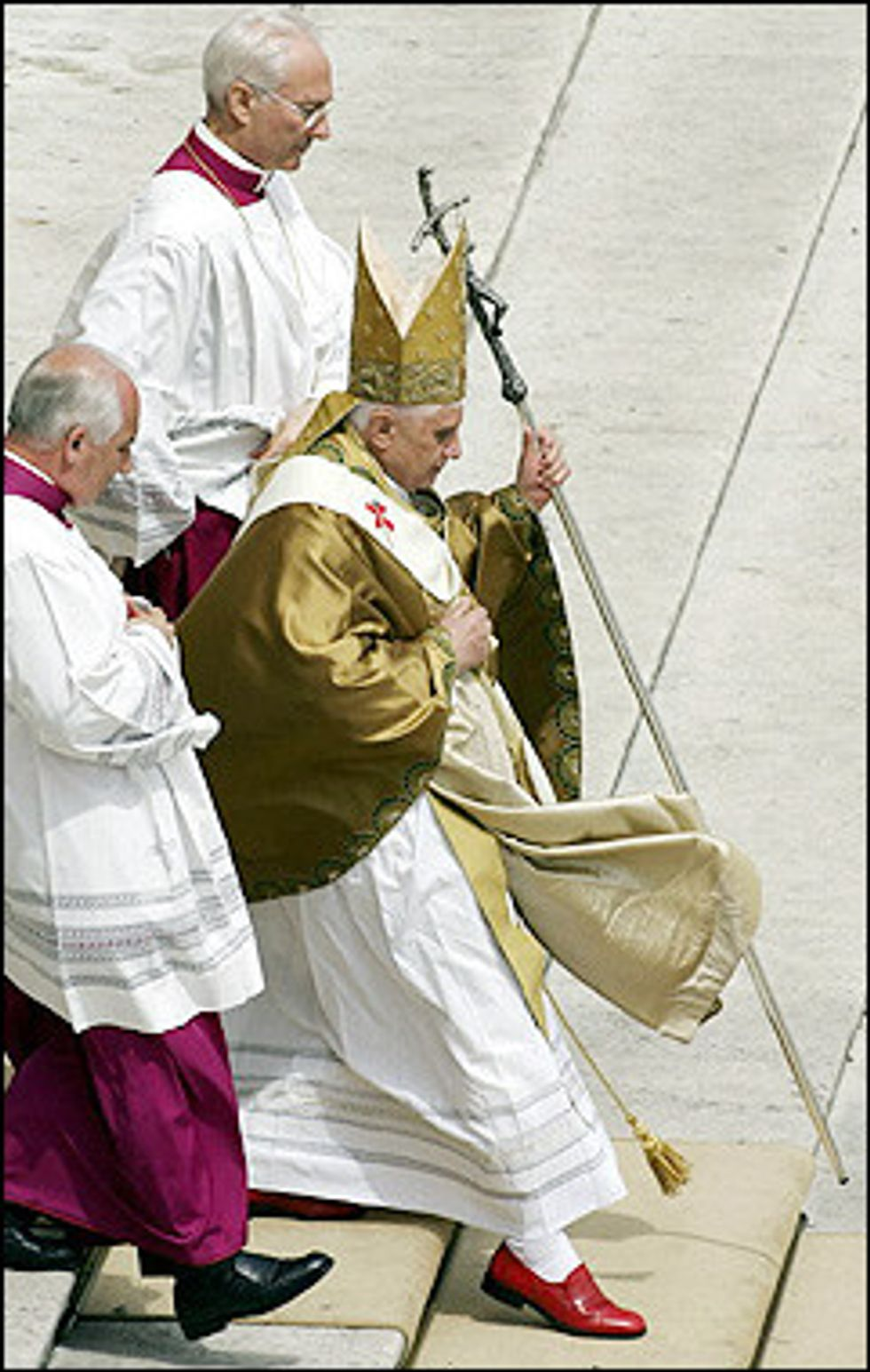 Is the Pope a Fashionista?