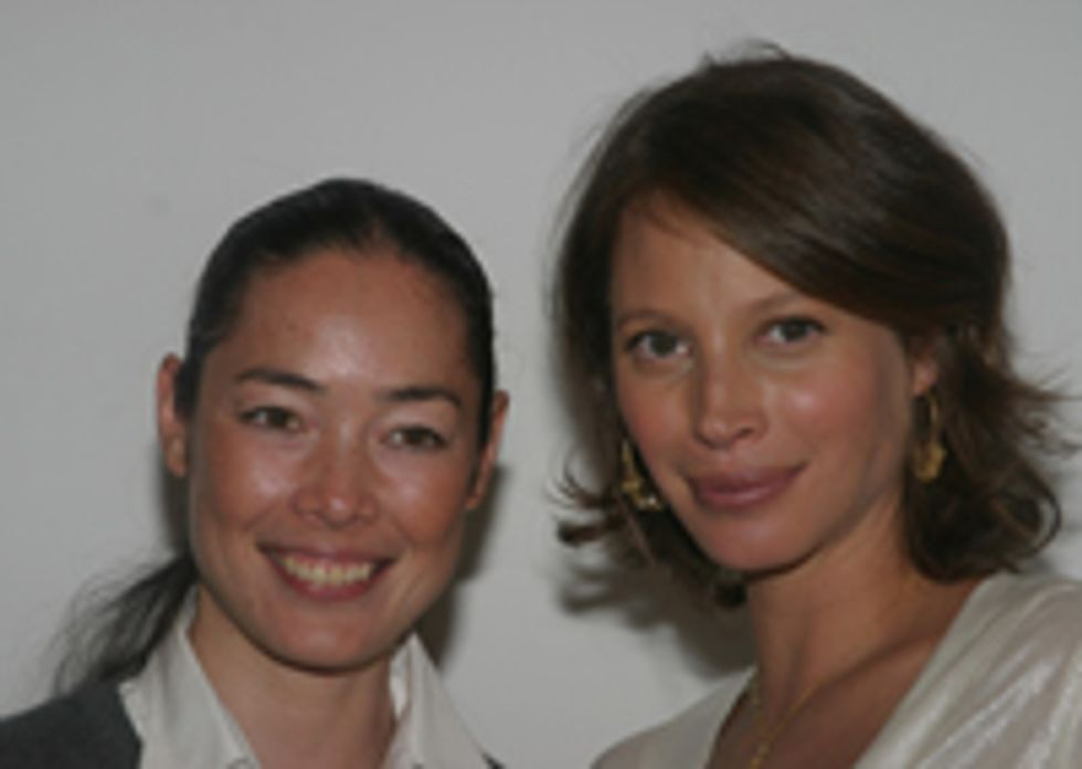 NY Nightclubbing with Christy Turlington and Cecilia Dean