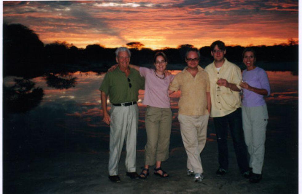 Sunset in Botswana!