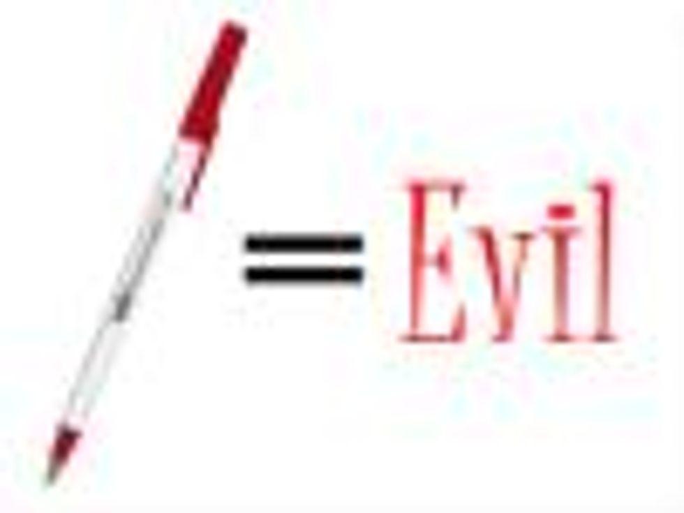 Beware of Exploding Pen