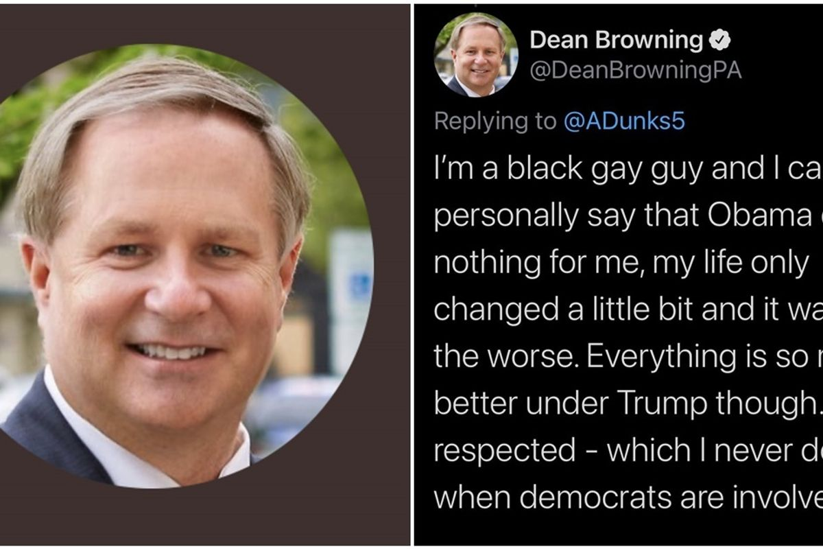 White Republican caught tweeting as a gay, Black man and then things got even more bizarre