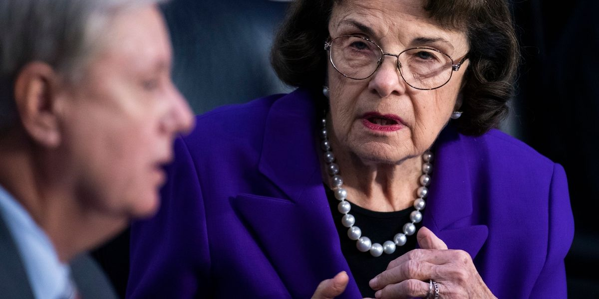 Feinstein urges Graham to stop processing Trump judicial nominees 'now that the 2020 election has concluded'