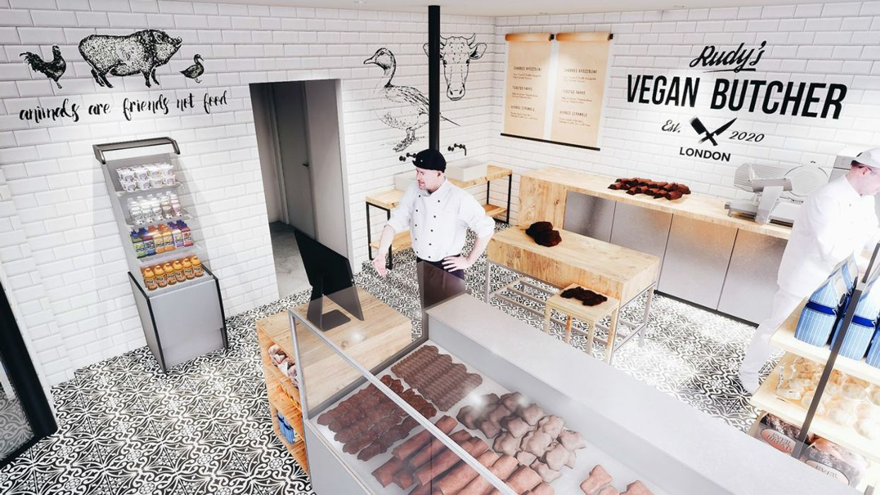 Meet the UK's First Vegan Butcher Shop